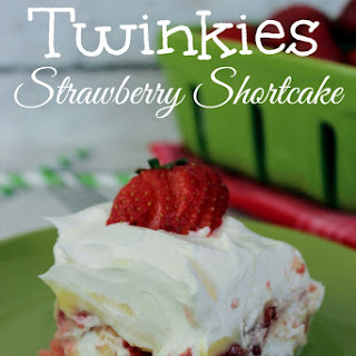 No Bake Twinkies Strawberry Shortcake (made with pudding)!.