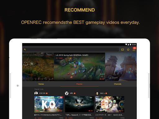 OPENREC.tv -Gaming Videos&Live 6.9.4 Windows u7528 10