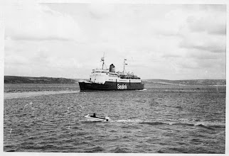 "Photo: ""Caesarea"" at Weymouth August 30, 1975  (Photo: A.M.S. Russell). As from 1976 on Dover-Calais route."