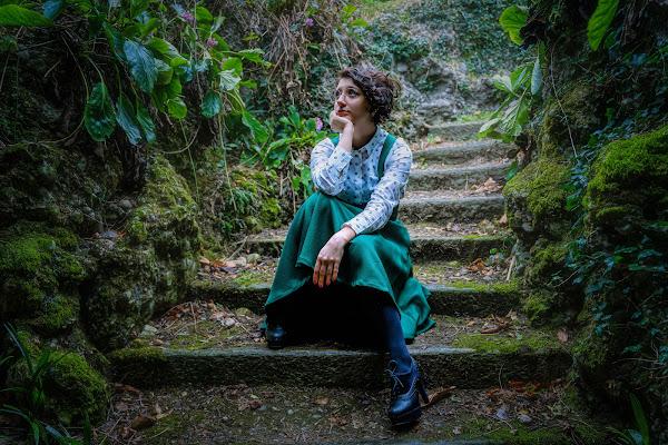 Girl in green di Alan_Gallo