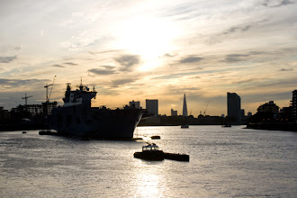 Photo: View towards central London from Greenwich