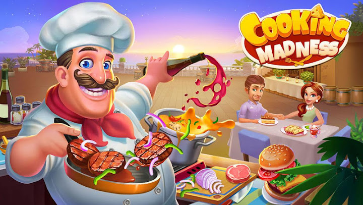 Cooking Madness - A Chef's Restaurant Games Android App Screenshot
