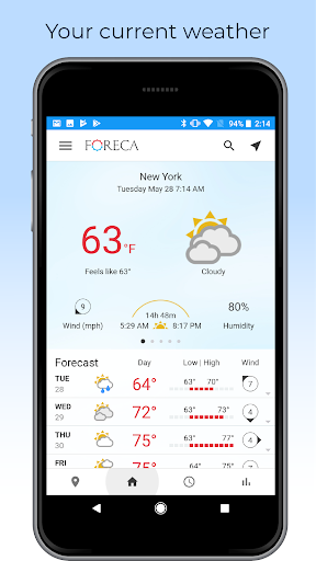 Foreca Weather screenshot 6