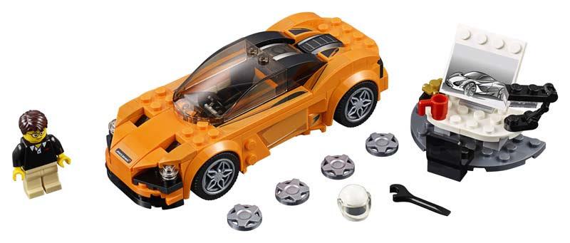 Contenido de Lego® 75880 McLaren 720S