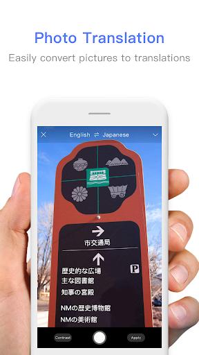 Screenshot for Translator Foto Pro - Free Voice & Photo Translate in Hong Kong Play Store