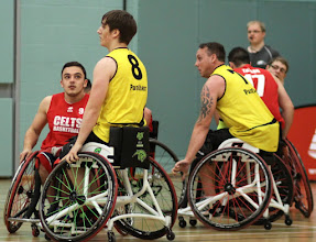 Photo: Photo taken during day one of the 2015 PlayOffs, 30 May 2015, and the match between CELTS 1 (Champs of 2nd Div South) and Carlisle Panthers (Runners Up in 2nd Div North) at Worcester Arena.