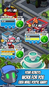 Tap Empire Idle Tycoon Tapper & Business Sim Game 2.5.22 MOD (Unlimited Gem) 2