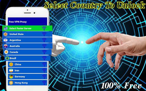 Vpn Free Unlimited Proxy Master screenshot 4