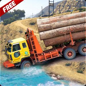 Future Cargo Truck Logging Simulator: Hill Driver