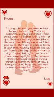 romantic love letters screenshot thumbnail