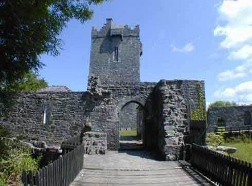Aughnanure Castle , County Galway, Ireland
