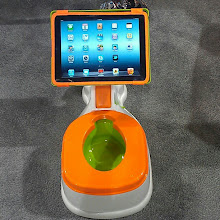 Photo: #pottytraining with #tablet #2013ces