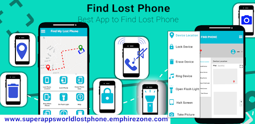 find lost phone: lost phone remote access – Apps on Google Play