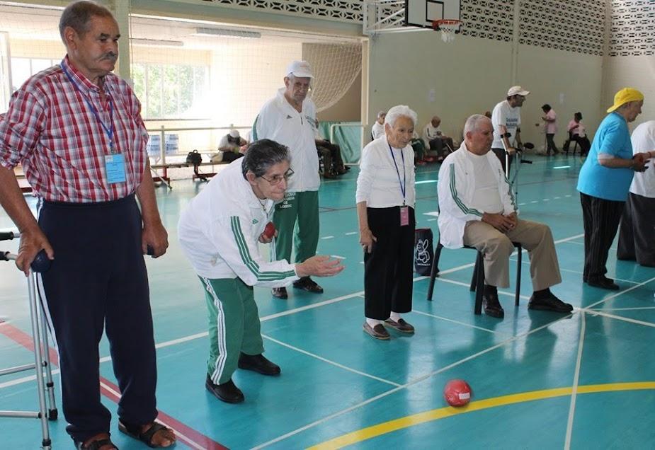Misericórdia de Lamego juntou 100 idosos em encontro de boccia