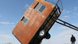 Tiny Tilting Tower Home