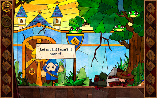 کھیل Message Quest — the amazing adventures of Feste Android کے لئے screenshot
