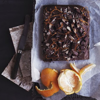 Choco-orange Tray Bake.