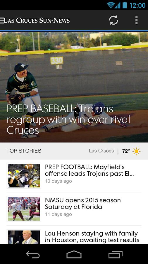 Las Cruces Sun News- screenshot
