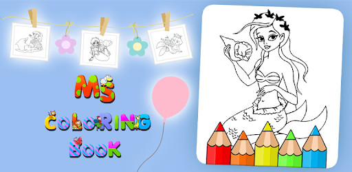 Приложения в Google Play – Little Mermaid Coloring Book