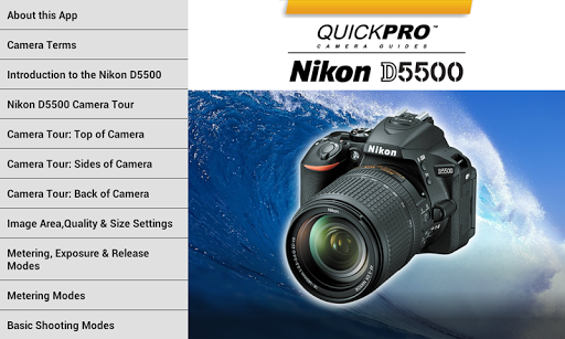 Nikon D5500 from QuickPro