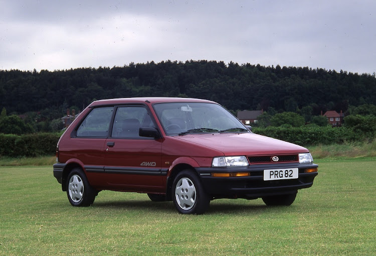 The Subaru Justy was a firm favourite with the farming community in many countries. Picture: NEWSPRESS UK