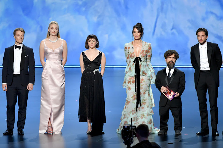 The cast 'Game of Thrones' received a standing ovation as they gathered on stage at the 2019 Emmy Awards.