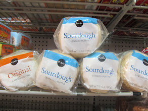 Photo: The Publix brand English Muffins are displayed prominently, but their packaging isn't nearly as flashy as the national brands.