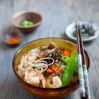 15-Minute Soba Noodle Soup.