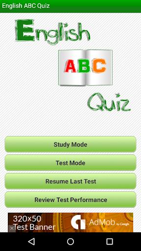 English ABC Quiz