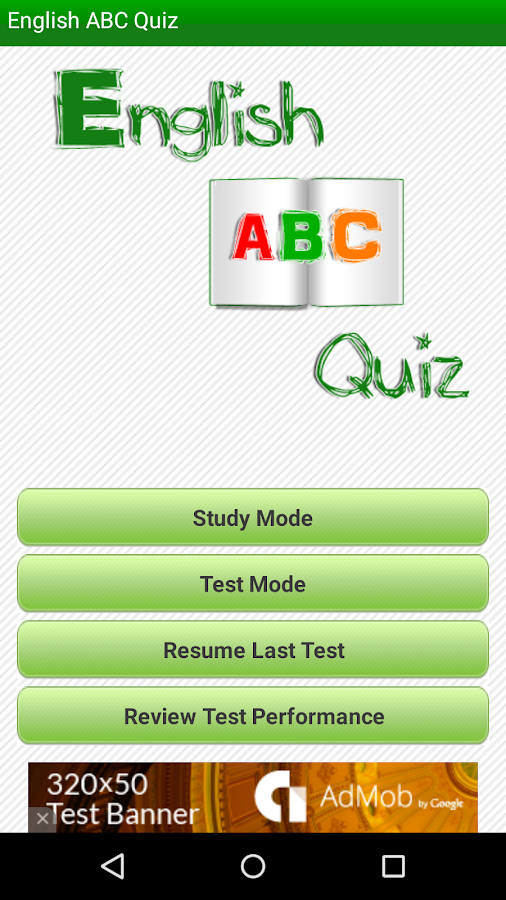 English ABC Quiz- screenshot