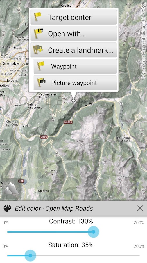 AlpineQuest GPS Hiking- screenshot