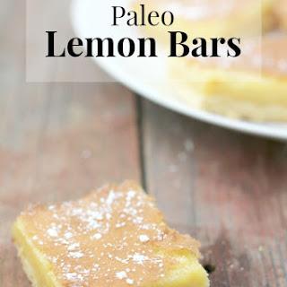 Paleo Lemon Bars