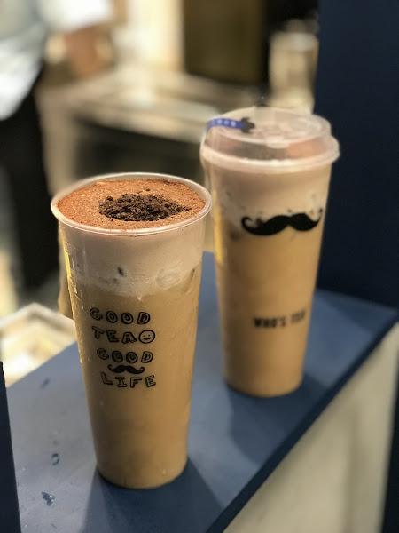 台中北上的手搖茶飲 黑鬍子奶茶撲滿巧克力粉跟OREO的好味道 +銅板多一杯-鬍子茶ATT