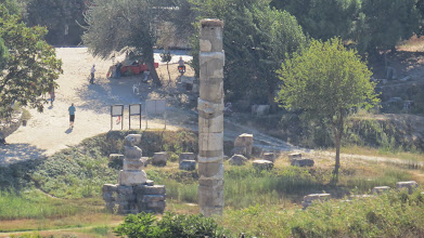Photo: All that remains of the Temple of Artemis, another of the 7 wonders of the ancient world