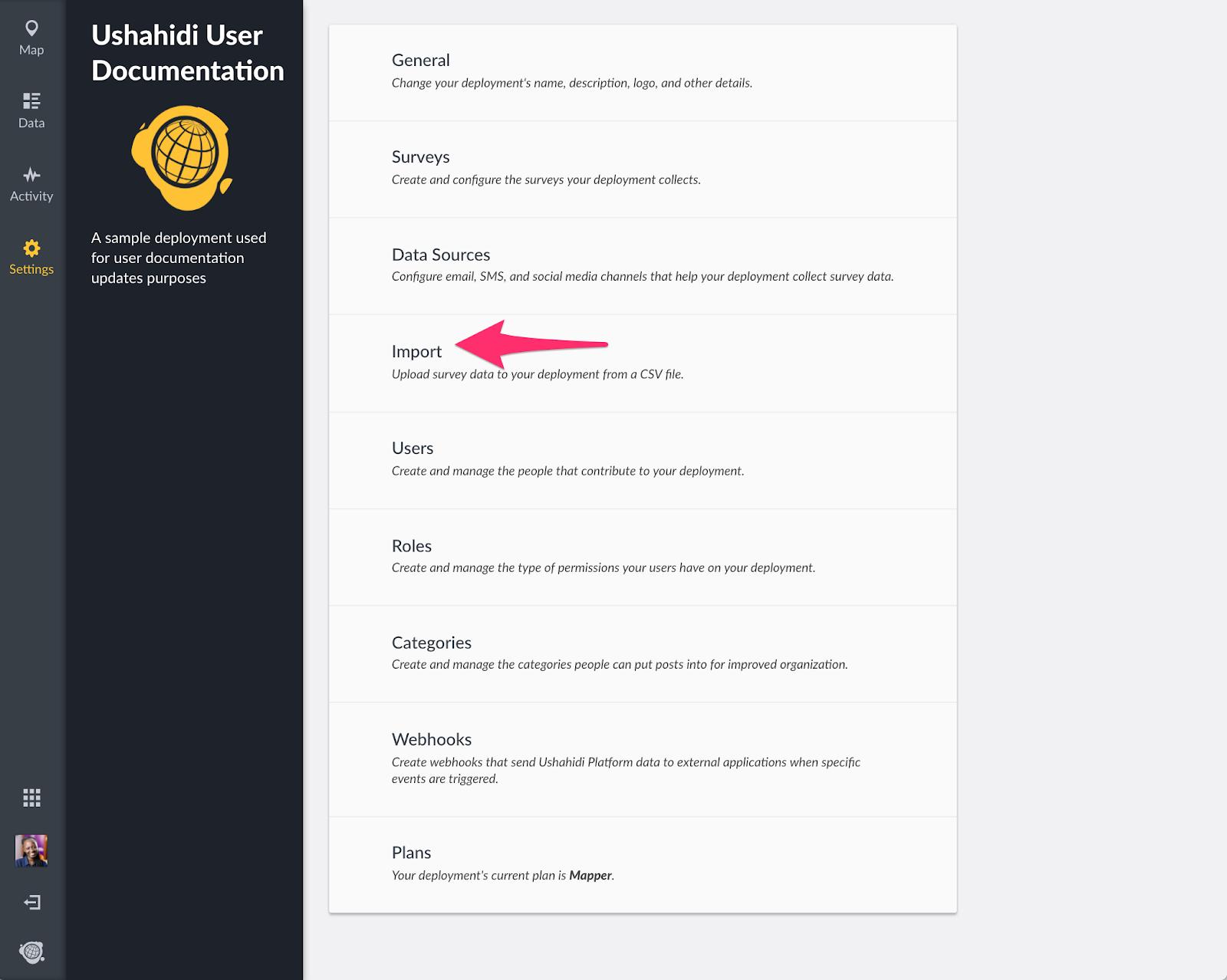 Support - Ushahidi