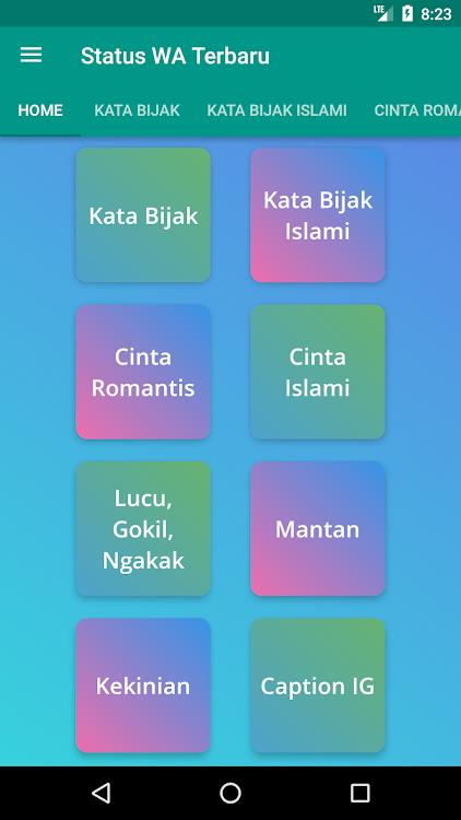 Status Wa Terbaru Gokil Dan Keren Android تطبيقات Appagg