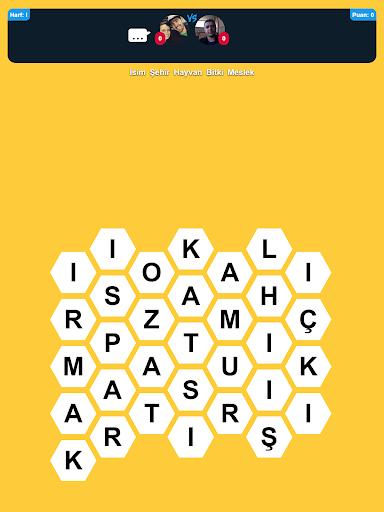 u0130sim u015eehir Hayvan Online - Kelime Oyunu 1.0.23 screenshots 9