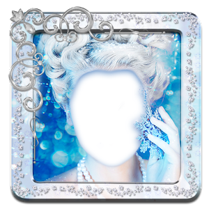 Frozen Queen Photo Montage