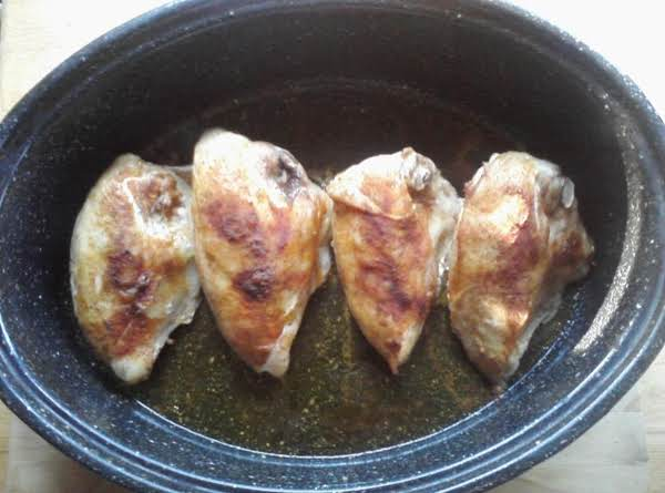 Seasoned Baked Chicken Breast