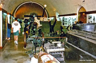 Photo: 1996-07-07. Valletta. Nationaal Oorlogsmuseum | National War museum.  www.loki-travels.eu