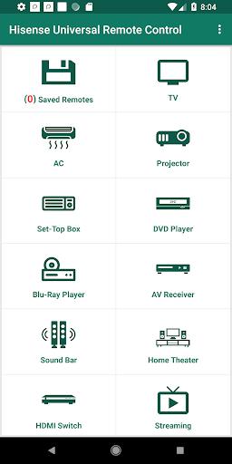 Hisense Universal Remote Control 1.3 screenshots 1