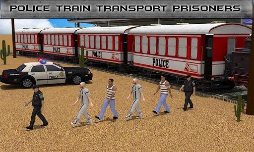 警察列車刑務所輸送