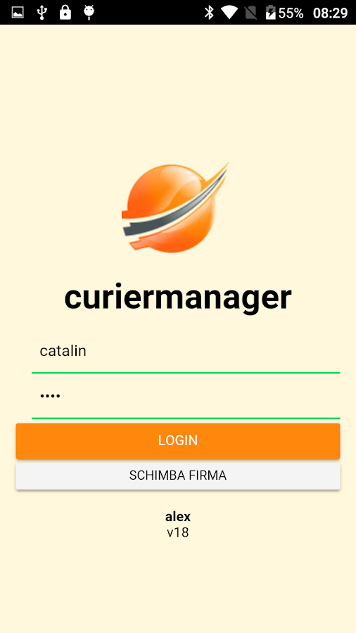 Curier Manager- screenshot