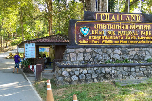 Start the trek at the park ranger station of Khao Sok National Park