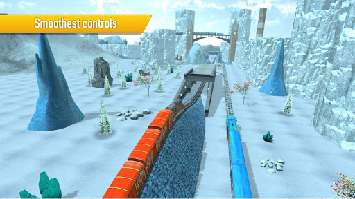 Train Simulator Uphill Drive apkpoly screenshots 13