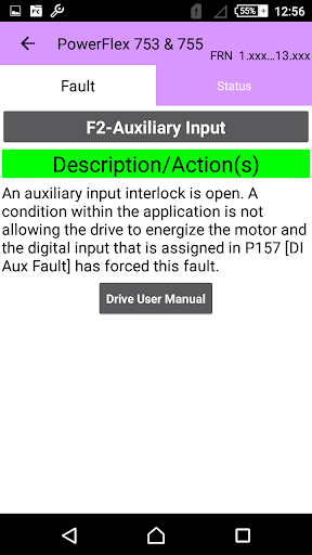 Drive Fault Finder Pro by PLC Technology (Google Play