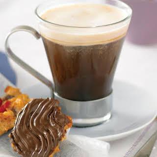Irish Coffee with Florentines.