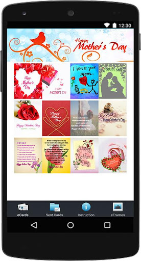 Happy Mother's Day eCard Frame