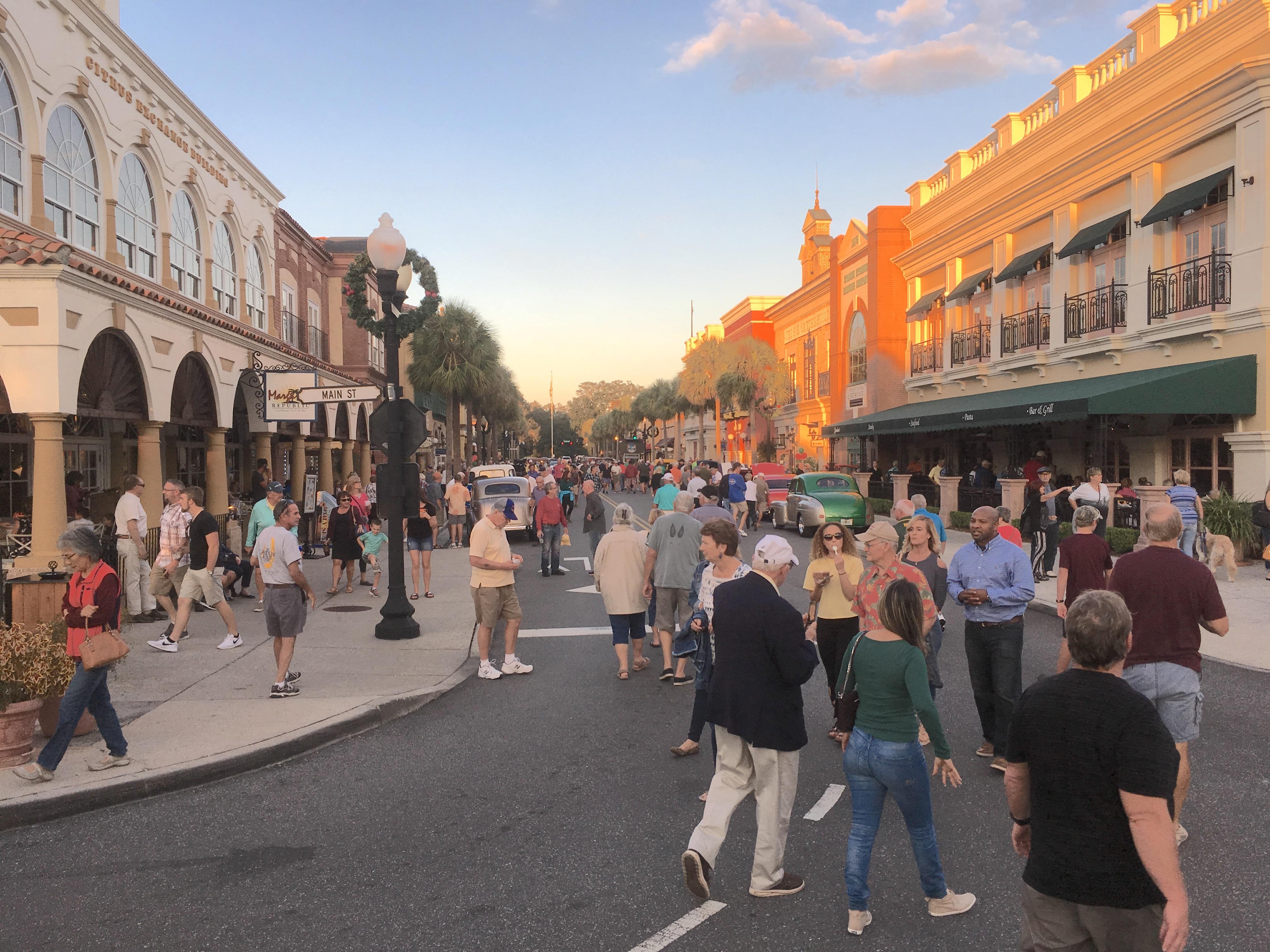 Main Street Spanish Springs Town Center November 18, 2017