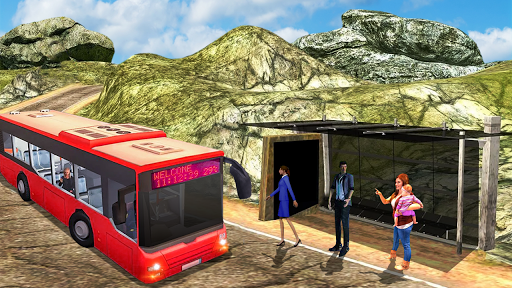Offroad Tourist Bus Uphill Mountain Drive 1.0 screenshots 4